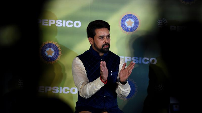 Anurag Thakur had reportedly held a discussion with England and Australia over his stance of pressing ahead with the `Big Three` formula. The 41-year-old is expected to project a favourable BCCI stance for keeping the formula intact. (Photo: AFP)