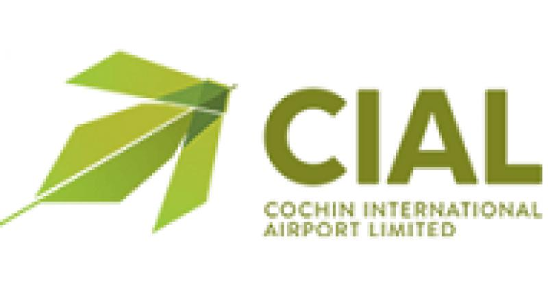 Cochin International Airport Ltd logo.