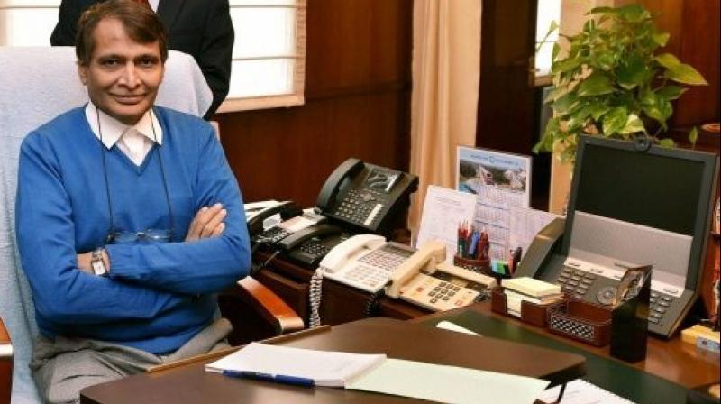 Have sought Jaya's support for joint ventures: Suresh Prabhu