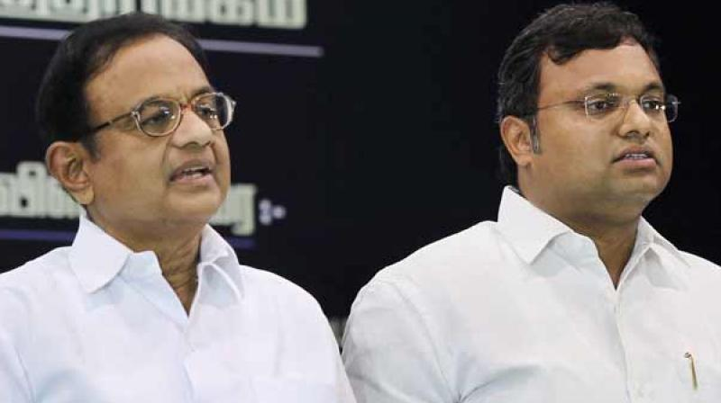The senior Congress leader's role has come under the scanner of investigating agencies in the Rs3,500-crore Aircel-Maxis deal and the INX Media case involving Rs305 crore. (Photo: File | PTI)