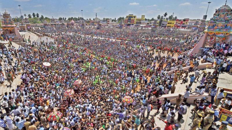 Maham Festival of Tamil Nadu