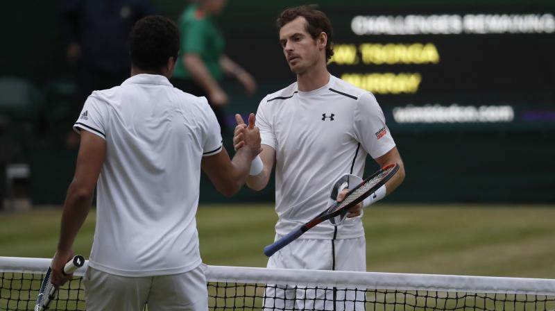 Andy Murray held his nerve and overcame a strong challenge from Jo-Wilfriend Tsonga to inch closer to a place in final. (Photo: AP)