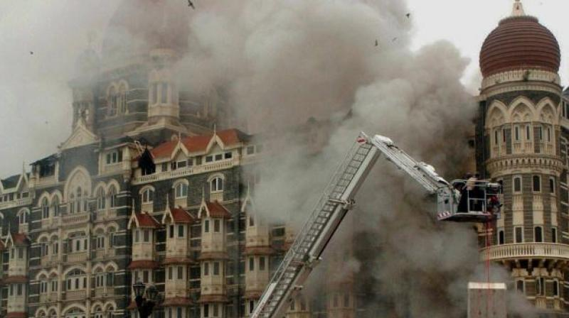 A total of 166 people were killed in the attack carried out by 10 LeT men in Mumbai. (File Photo)