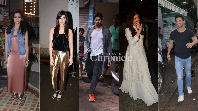 When it comes to poise and panache, no one can do it better than our tinseltown stars. (Pic: Viral Bhayani)
