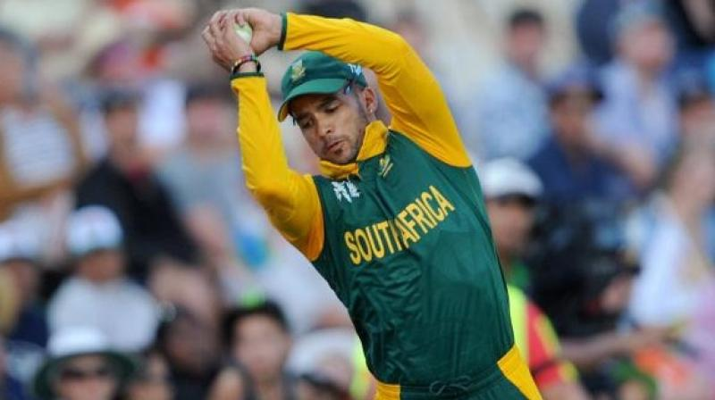 All-rounder JP Duminy has been ruled out of South Africa's ICC World Twenty20 match against West Indies on Friday because of a hamstring injury. (Photo: AP)