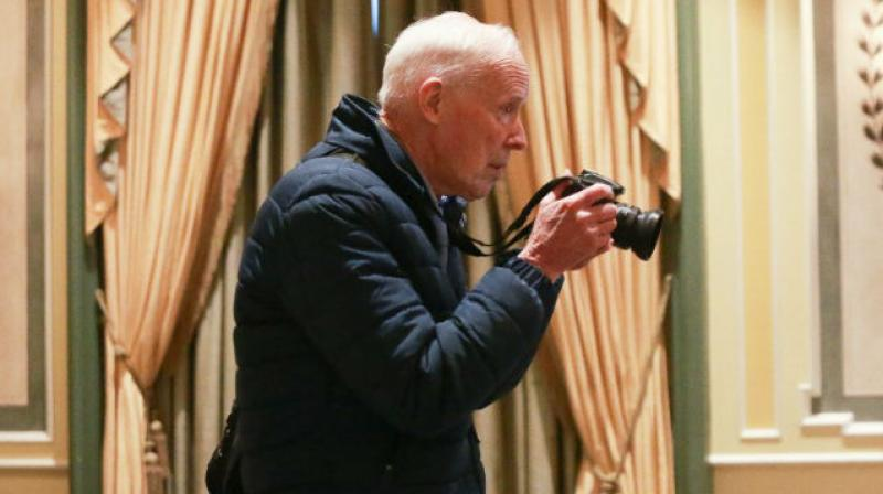 This file photo taken on April 11, 2016 shows photographer Bill Cunningham at the 2016 NYSPCC Spring Luncheon in New York City. (Photo: AFP)