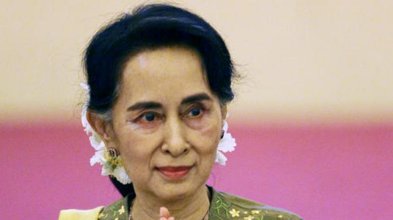 Myanmar under Suu Kyi has shown willingness to embrace its top trading partner and major investor. (Photo: AP)
