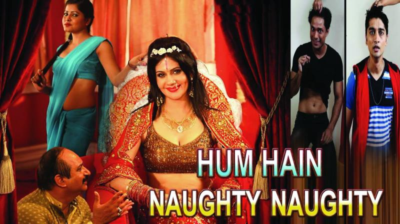 The film, Hum Hain Naughty Naughty, has been refused permission for release after it was found to be showing the god-woman in bad light.