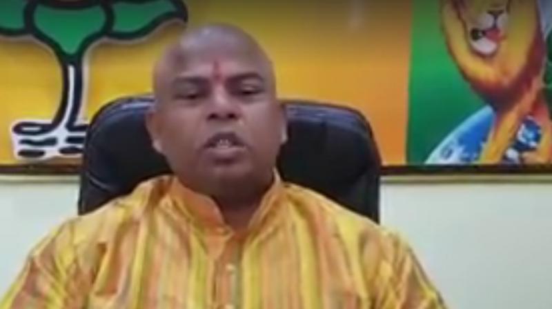 Telangana BJP MLA Raja Singh. (Photo: PTI)