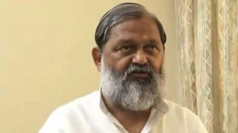 Haryana Health and Sports Minister Anil Vij. (Photo: PTI)