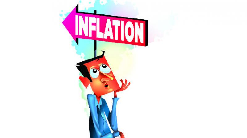 While Consumer Price Index based retail inflation was at 4.39 per cent in September, the one tracking Wholesale Price Index was at 3.57 per cent.