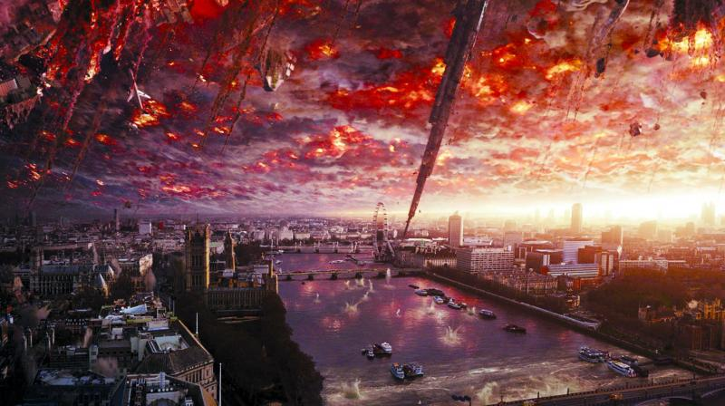 A still from the film Independence Day: Resurgence