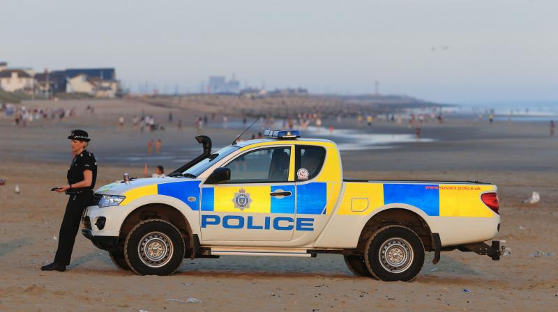 Three of the victims were airlifted from sea on Wednesday and two other bodies were discovered washed ashore later the same day at a popular beach resort of Camber Sands in East Sussex. (Photo: AP)