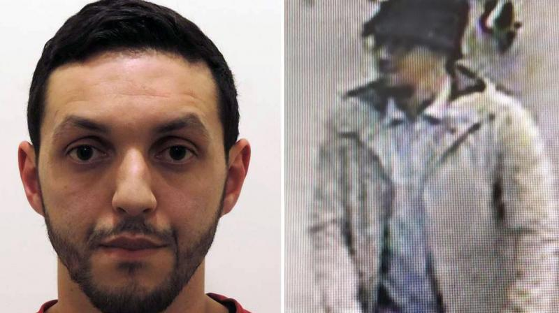 """Mohamed Abrini, who became known as the """"man in the hat"""" following the deadly attack on Brussels airport in March, was handed 3,000 pounds by two men in Birmingham before flying to Paris and disappearing, Kingston Crown Court was told on Friday. (Photo: AFP)"""