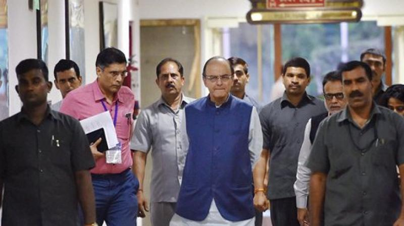 Finance Minister Arun Jaitley had held a meeting with FMs of all states in India to build consensus over the GST bill. (Photo: PTI)