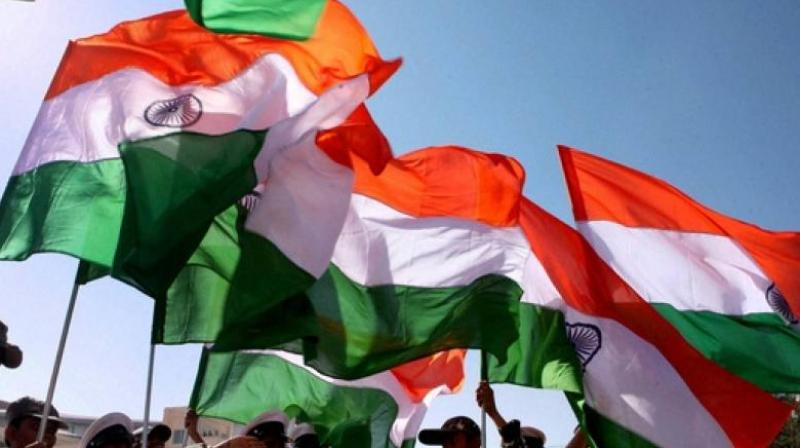 The man had allegedly crumpled the Indian flag and was trying to wipe his face with it. (Representational Image)