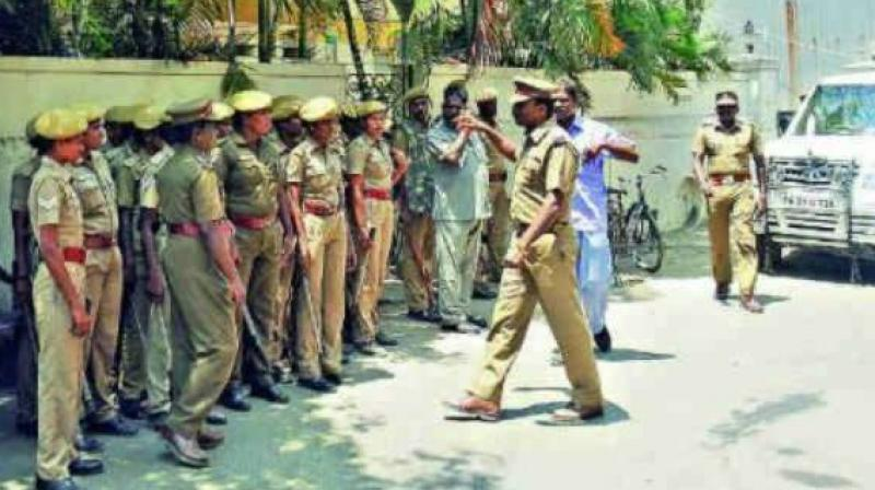 Policemen investigating crime cases in city are finding a new problem while dealing with offenders. (Representational image)