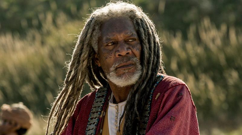 Morgan Freeman in a still from 'Ben-Hur'