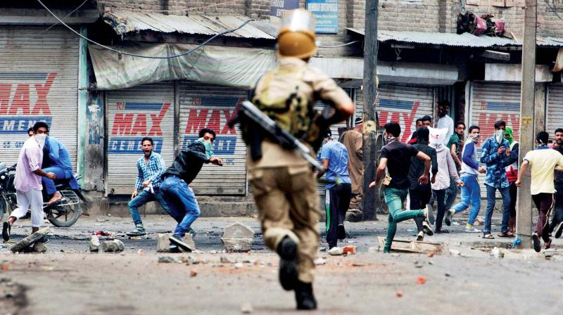 Image result for kashmir violence