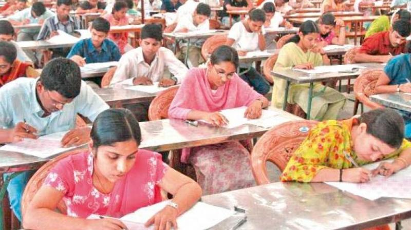 The dispute arose a couple of days before the date of commencement of the Group I Main exam.(Photo: Representational Image)