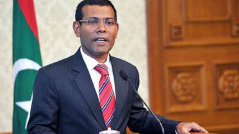 Exiled Maldives opposition leader Mohamed Nasheed. (Photo: AFP)