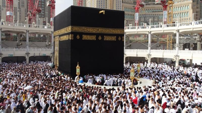 Majority women claimed to be harassed while performing 'tawaf,' a ritual central to Hajj wherein devotees circle around the sacred Kabaah inside the Al-Masjid AL-Haram Mosque. (Representational Image)