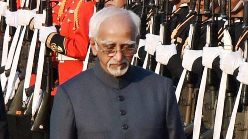 Vice President Hamid Ansari (Photo: PTI)