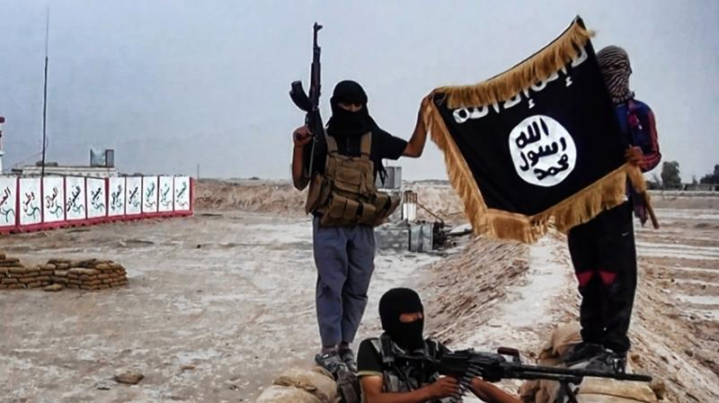 The video released Tuesday by the IS-linked Amaq news agency showed masked fighters in battledress patrolling a deserted, dimly lit thoroughfare in what it said was Mosul.  (Photo: Representational Image/AFP)