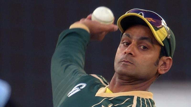 Pakistan Cricket Board official said the team management was keen to get a clear picture about whether Mohammad Hafeez can bowl in the last two Test matches and the limited-over series as they wanted to have an extra bowling option in England. (Photo: AFP)