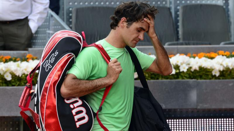 Roger Federer downplayed the seriousness of the injury, saying that it has happened to him before and he knows how to treat it. He is still expected to play at the Rome Masters before heading to France for Roland Garros. (Photo: AP)