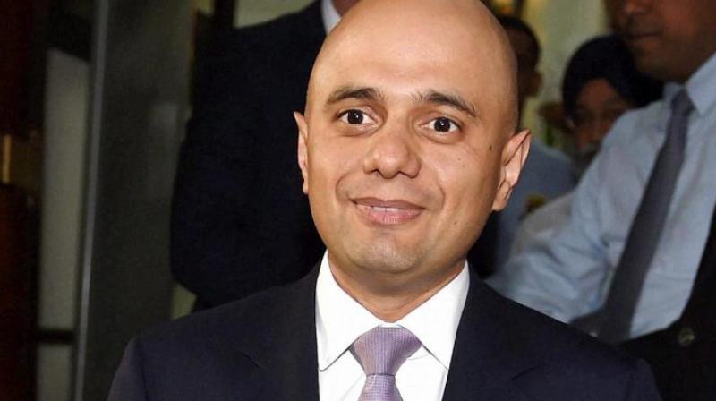 UK business minister Sajid Javid