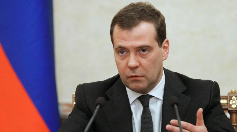 Prime Minister Dmitry Medvedev signed the document published on the government's press service that called for Russian assets of 322 Ukrainian citizens and 68 businesses to be frozen. (Photo: AP | File)