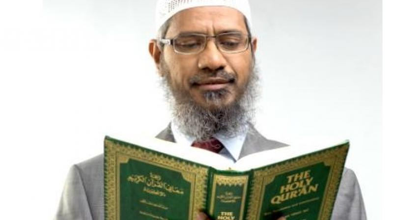 Nayek, a popular but controversial Islamic orator and founder of Mumbai-based Islamic Research Foundation, is banned in UK and Canada. (Photo: Facebook)