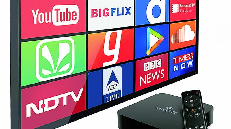 The EvoTV2 is best value for those whose TV is not 'smart', because it lets you use your TV as a web browser.
