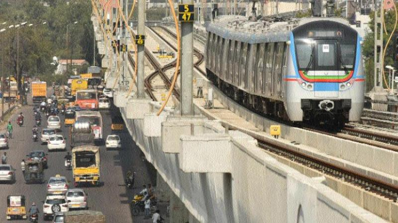 Metro Rail was to be completed by 2014 but got delayed due to funds, land acquisition problems and signalling works.