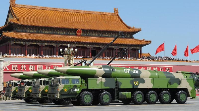 wary  chinas  guam killer missile report