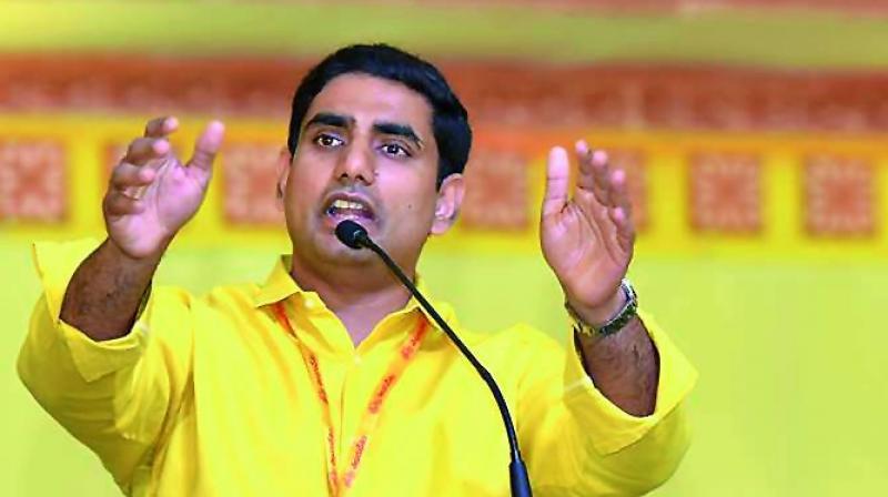Image result for nara lokesh