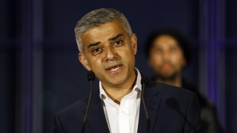 News of Khan's win in the British capital featured on the front pages of all major Pakistani newspapers Saturday, while also causing a stir on social media. (Photo: AP)