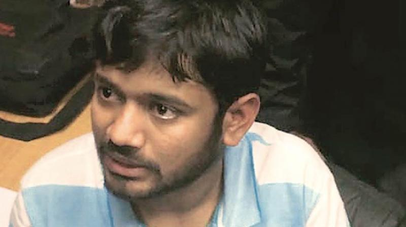 A Delhi court on Thursday said that it will go ahead with the hearing of the 2016 sedition case against former JNU Students Union president Kanhaiya Kumar and others even if the Delhi government doesn't give its sanction to prosecute them. (Photo: File)