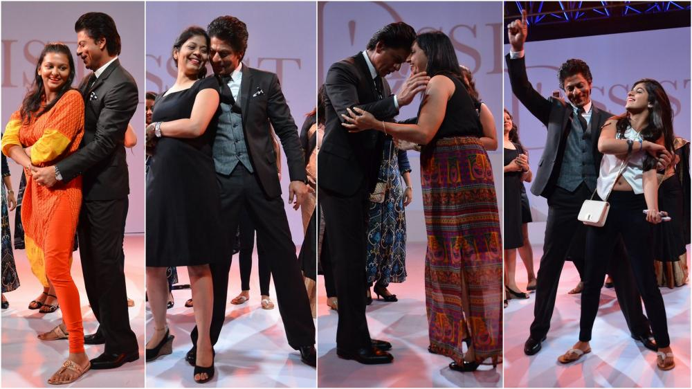 King of Romance, Shah Rukh Khan never fails to woo his fans
