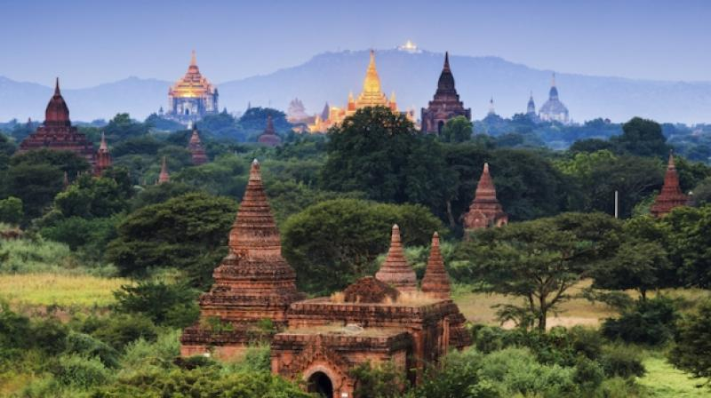 A powerful 6.8 magnitude earthquake hit central Myanmar on Wednesday, damaging several ancient pagodas in the country. (Photo: AFP/Representational)