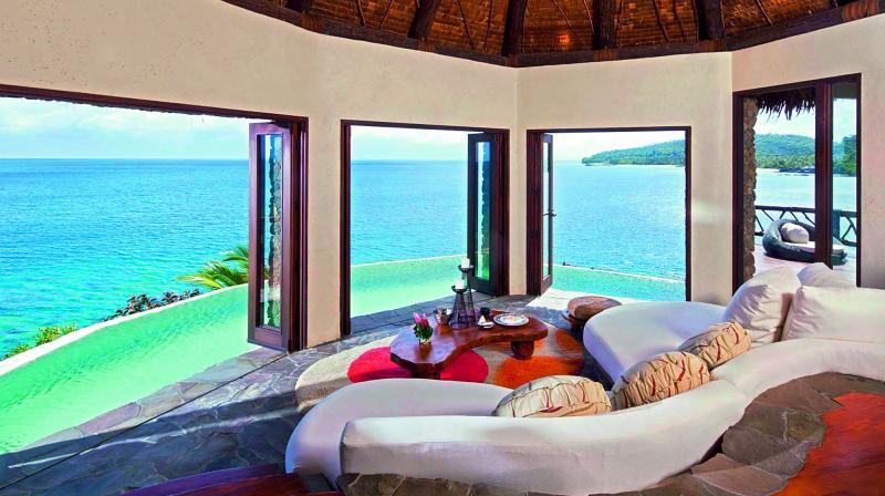 Delana Hilltop Estate, Laucala Island Resort in Laucala Island, Fiji Price: Rs 37,65,324 a night