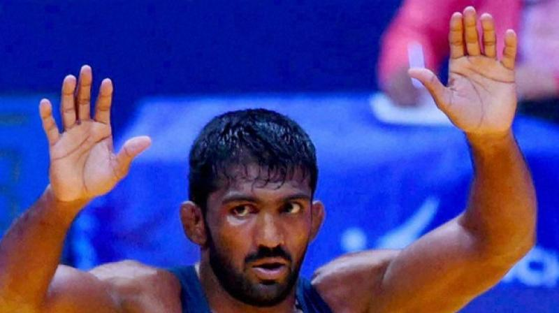 Wrestler Yogeshwar Dutt (Photo: PTI/File)