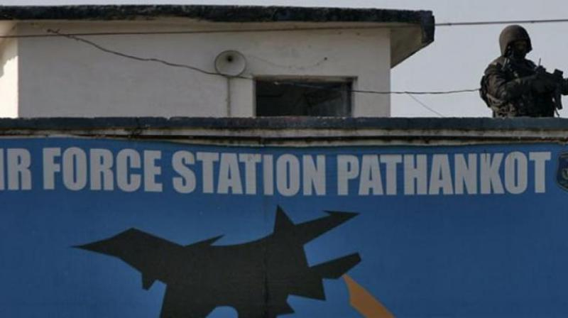 The Pathankot air base was attacked by heavily armed terrorists reportedly having allegiance to the Jaish-e-Mohammed, a terrorist organisation based in Pakistan-occupied Kashmir. (Photo: PTI)