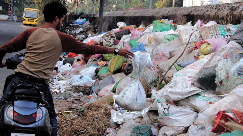 A 33-year old Kerala youth working in Bangalore on Tuesday launched a plastic waste management programme which offeres a scientific soution to the probelm.