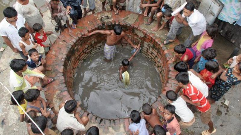 A study suggested that 60% of the groundwater in a river basin supporting more than 750 million people in Pakistan, India, Nepal and Bangladesh is not drinkable or usable for irrigation. (Photo: AP/Representational)