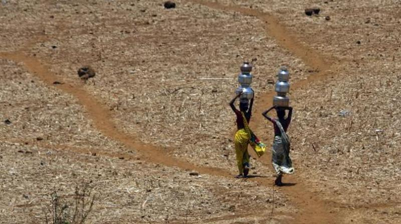 Women and girls across the world collectively spend about 200 million hours every day collecting water. (Photo: AP)