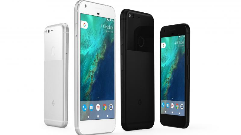 Advance orders began Tuesday starting at roughly $650 for the 5-inch version and $750 for the slightly larger 5.5-inch screen.