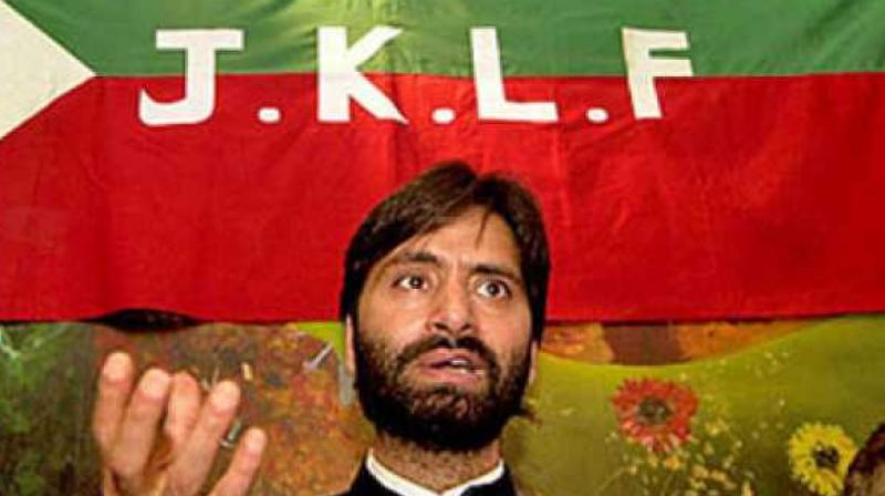 Joint Resistance Leadership, an alliance of key separatist leaders including Malik, has asked people on Saturday to register their protest against the Prime Minister's visit. (Photo: File/PTI)