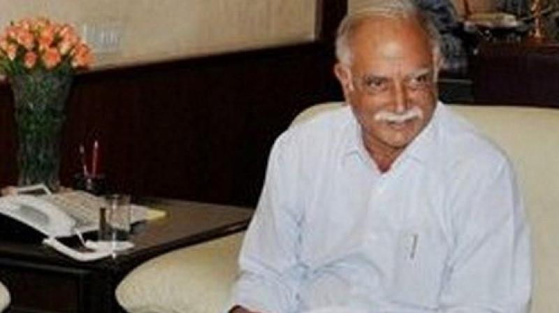 Union Minister Ashok Gajapathi Raju.